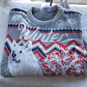 """NWT """"Winter is Coming"""" Holiday Sweater"""